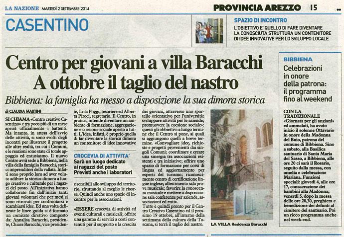 La Nazione 02-09-2014